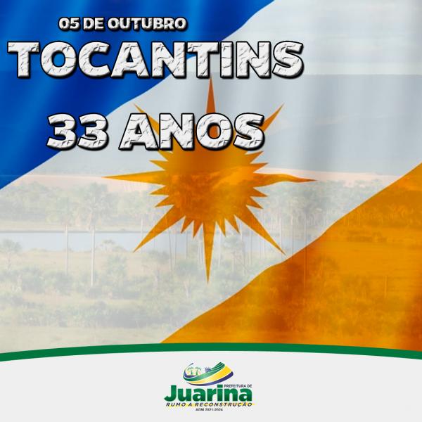 Parabéns Tocantins