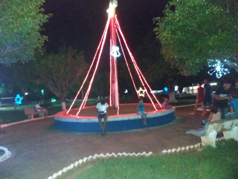 Decoração Natalina, Prefeitura Municipal de Juarina